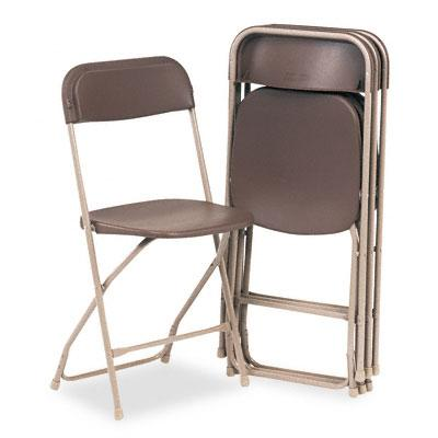 Delightful Brown Folding Chair