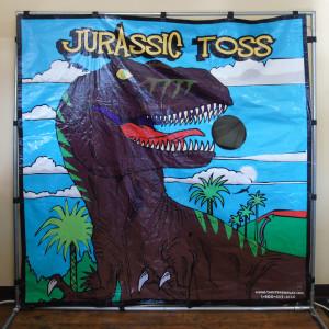 Jurassic Toss fram game