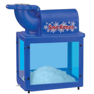 sno-kone machine blue