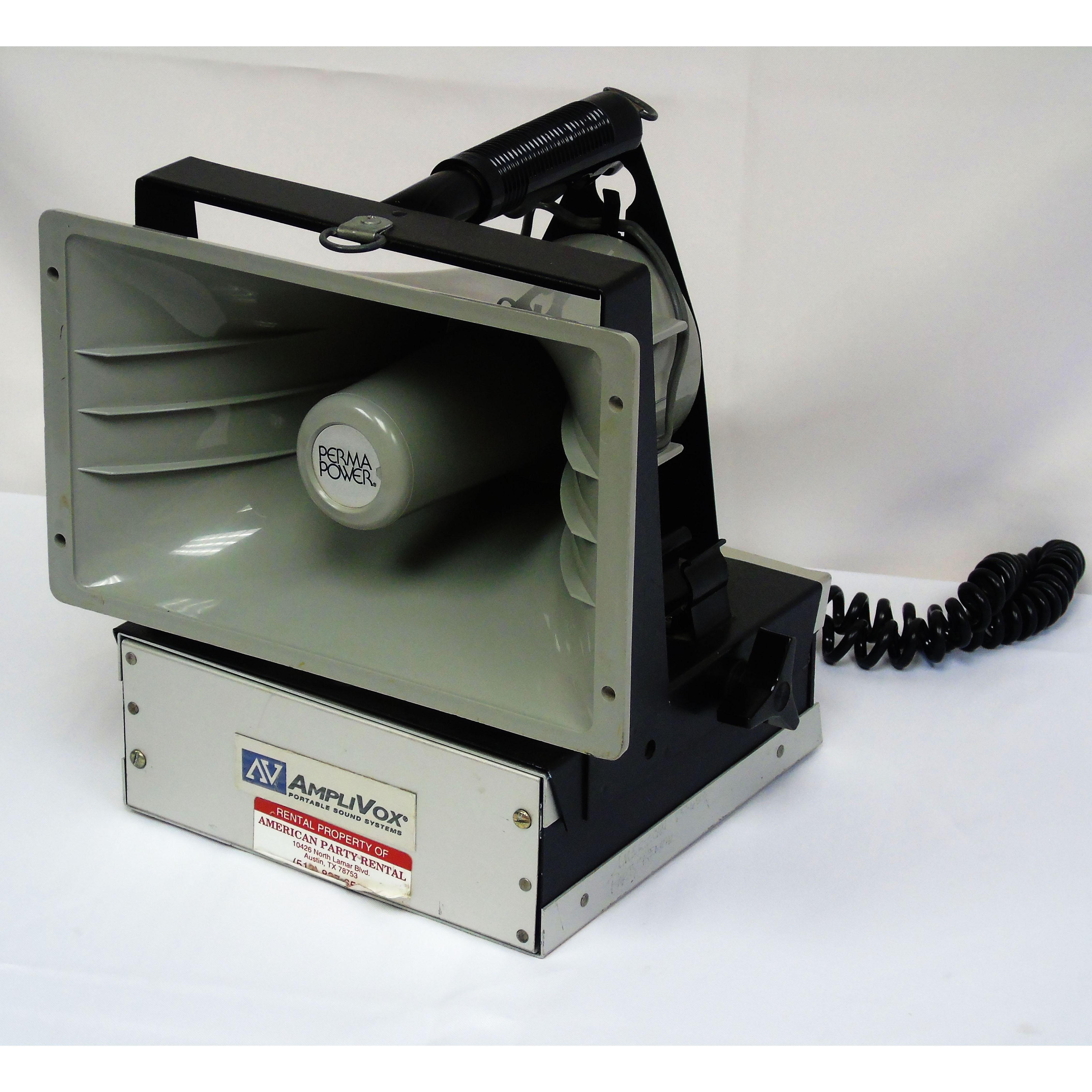 PA System, Portable 1/2 Mile Hailer