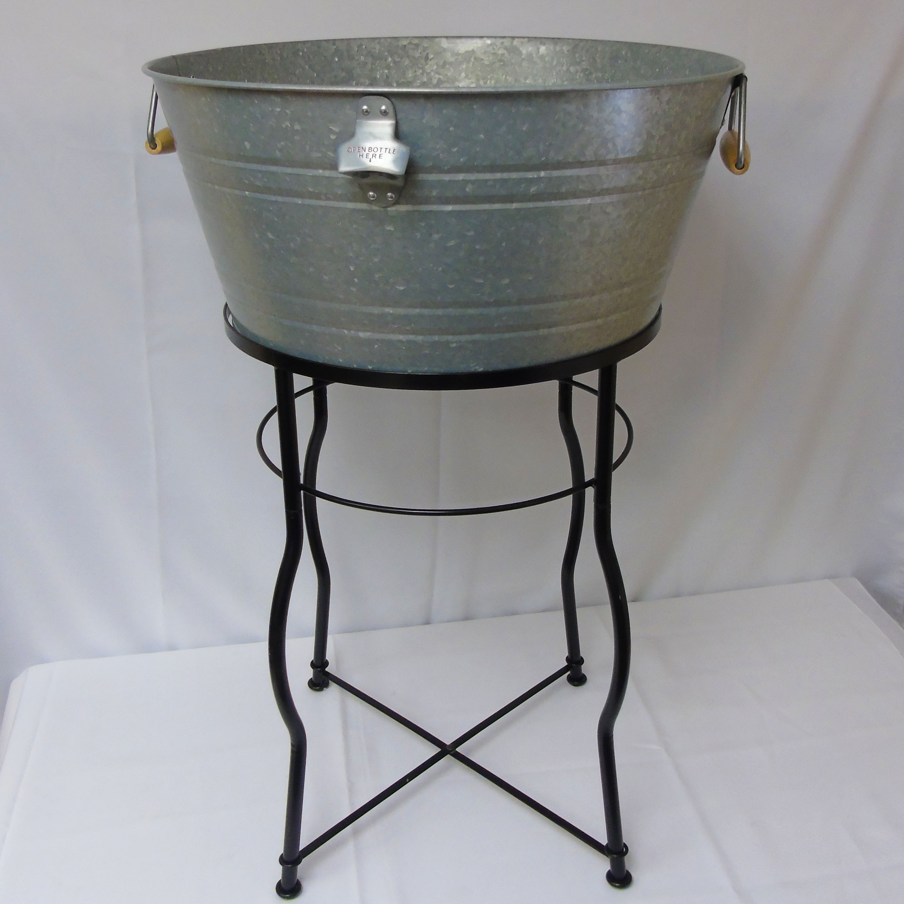 Wash Tub With Stand : ... Pieces / Drink Service / Beverage Wash Tub with Stand, 9.25 Gal