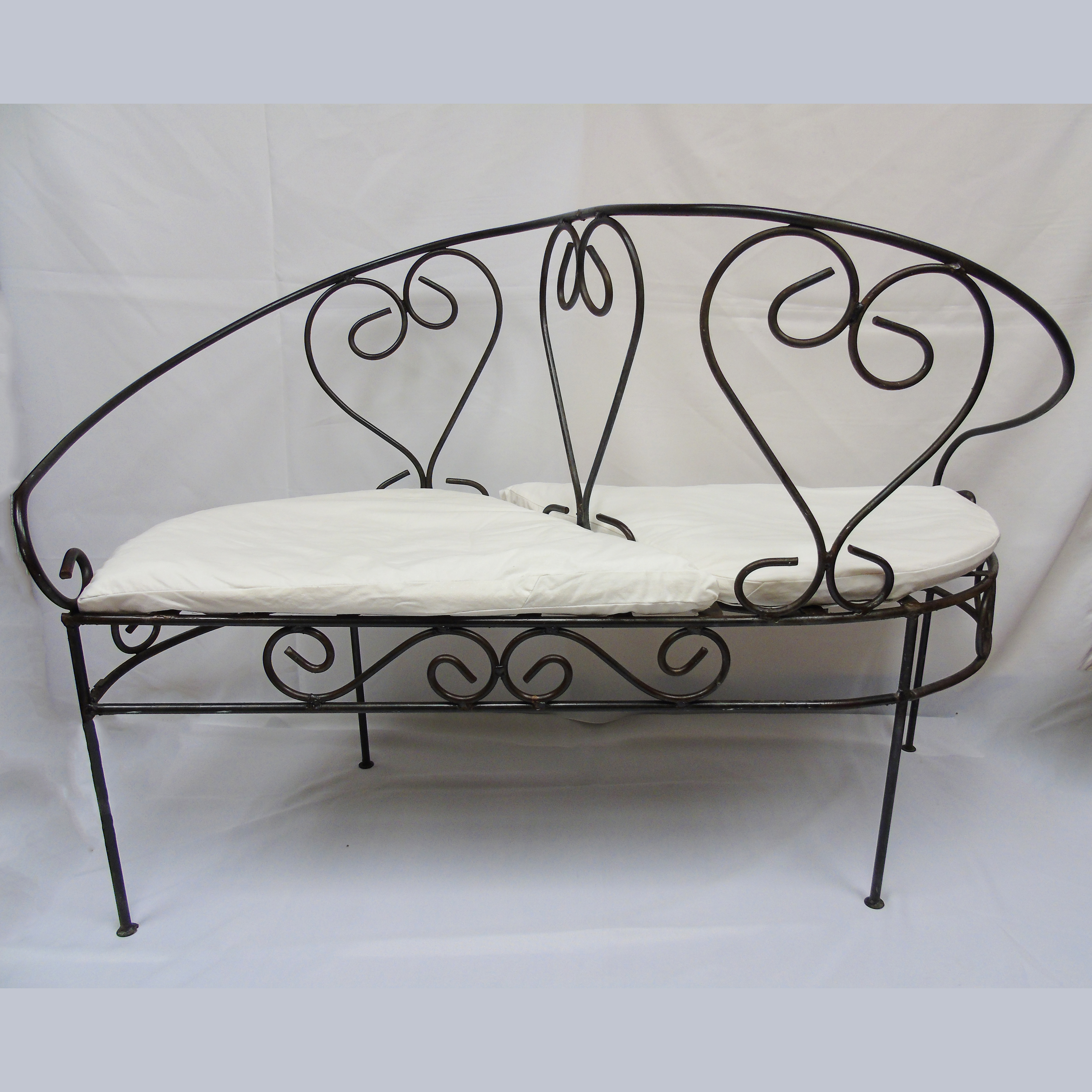 wrought iron kissing bench american party rentalamerican party rental