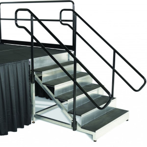 stage stair handrails