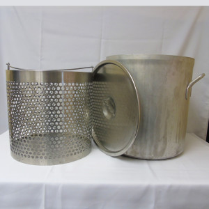 stock pot & baskets (all sizes)