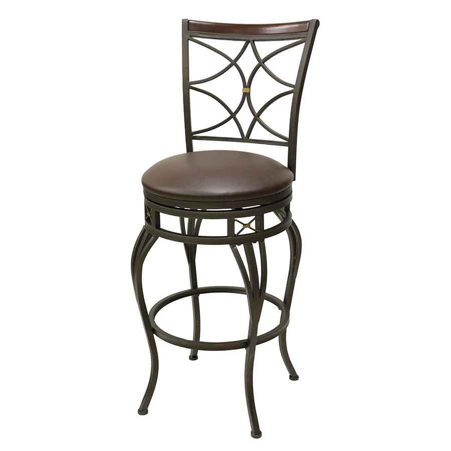 Wrought Iron Bar Chairs