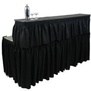 bar top skirt