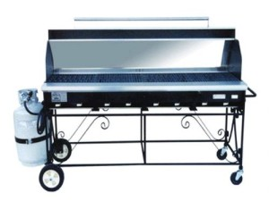 propane grill w:hood