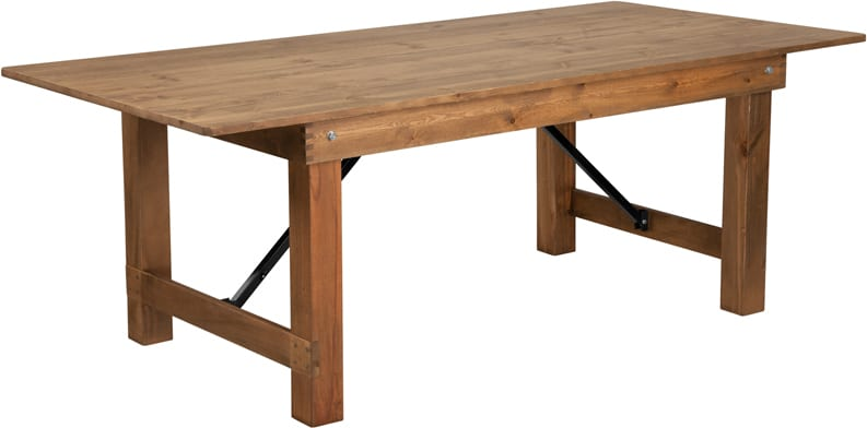 New Farm Table Rustic Pine 40 X 8 Ft